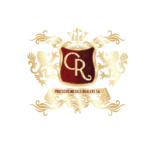CR gold logo