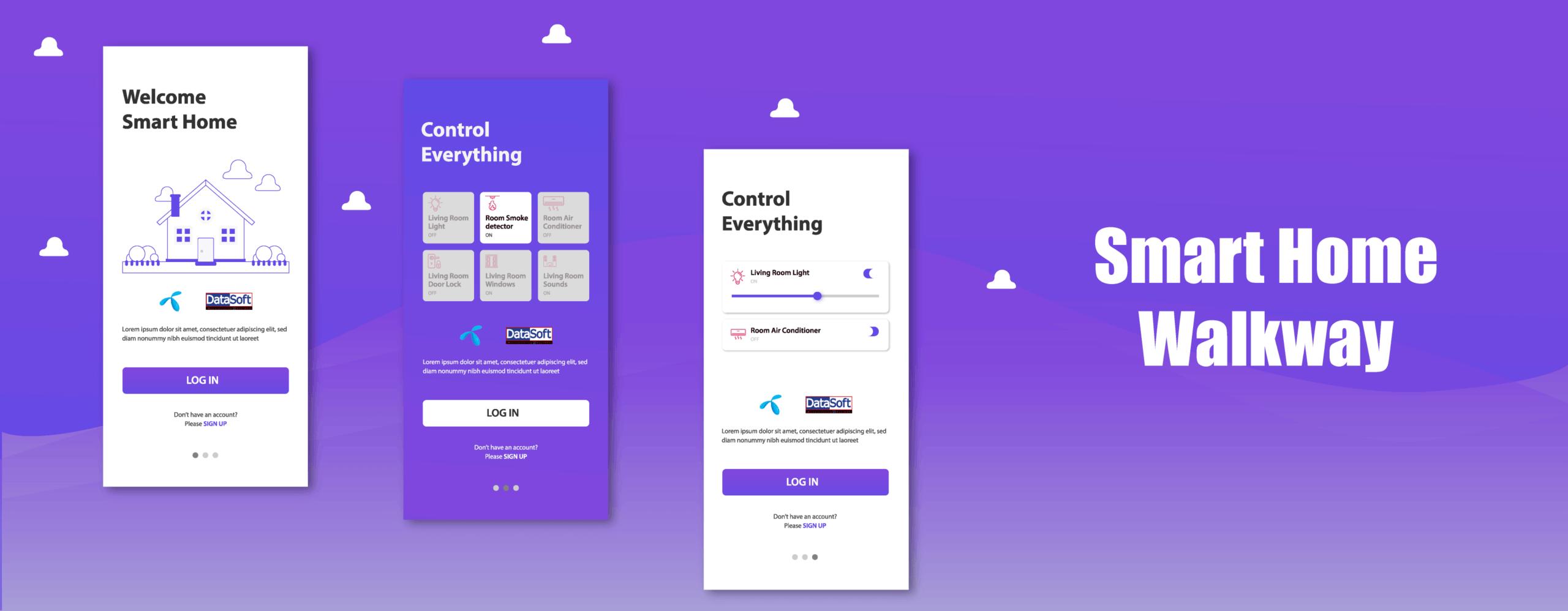 smart home apps design